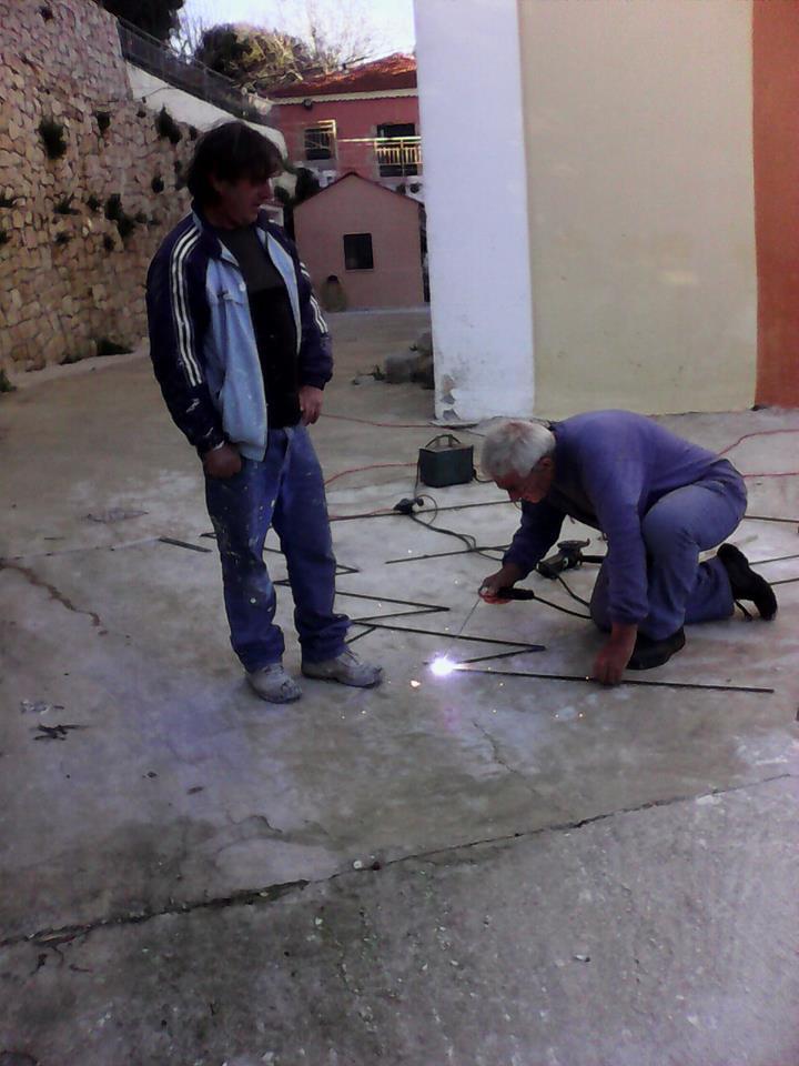 2014-11-11 εργα στο Κελι-Μαρουλης Γερασιμος- Χαροβας
