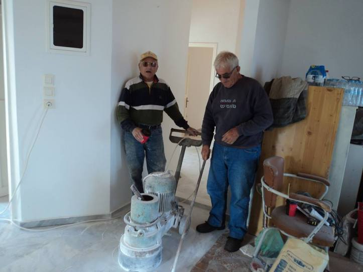 2014-11-11 εργα στο Κελι-Χαροβας-Μπαμπης